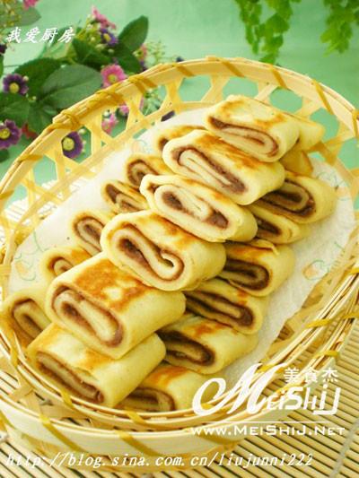 豆沙卷饼的做法_家常豆沙卷饼的做法【图】