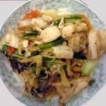 酸菜炒冕鱼