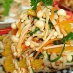 海带金菇拌粉皮的做法