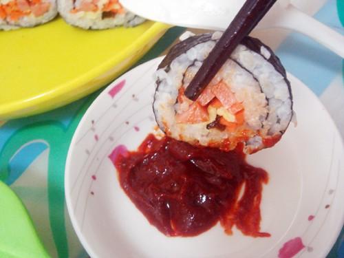 北方大米小寿司的做法_家常北方大米小寿司的做法【图】