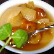 苹果梨枣汤