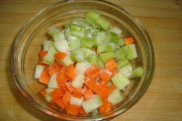 腌菜的做法【美食图】_菜谱_麝香杰怎样做步骤米图片