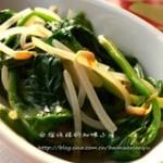 银芽拌菠菜