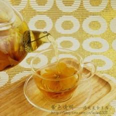 金莲金桔桂花茶