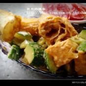 黄瓜拌油条