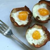 培根鸡蛋面包杯