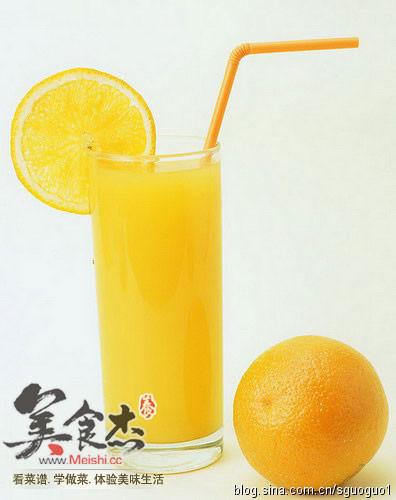 简单的鲜橙汁diy的做法【步骤图】_菜谱_美食杰