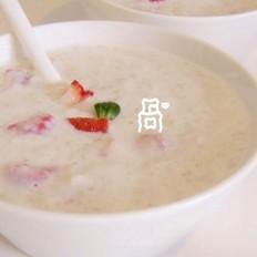 草莓燕麦粥