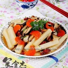 香菇烩山药
