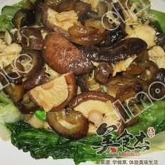 冬菇焖海参