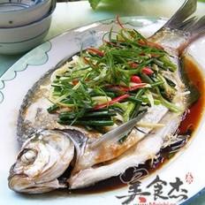 清蒸鳊鱼的做法