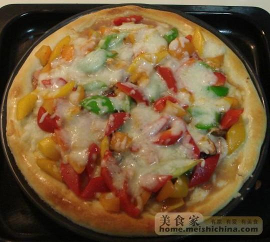 意大利披萨饼的做法【步骤图】_菜谱_美食杰