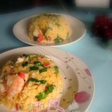 鲍汁海鲜炒饭