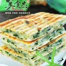 葱花虾皮饼