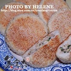 韭菜鮮肉雞蛋餡餅的做法