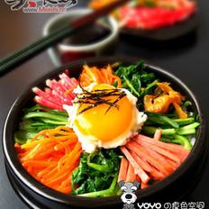 美味石锅拌饭的做法