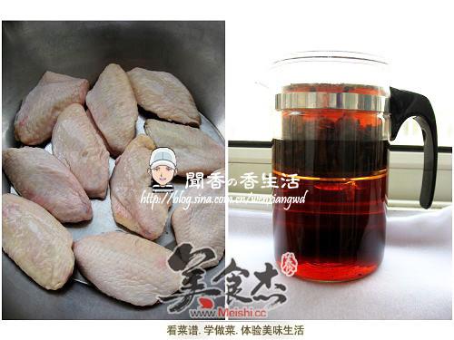 普洱茶香鸡翅的做法