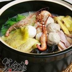 三鲜砂锅的做法