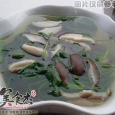 冬菇菠菜汤