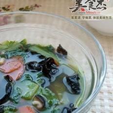 什锦小白菜汤的做法