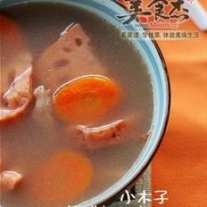 秋季好汤:莲藕龙骨汤