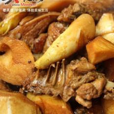 竹笋炖鸡块的做法