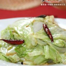 四川家常炒白菜