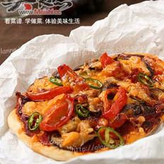 什锦香肠皮萨