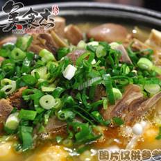 冬天里的羊肉汤锅的做法
