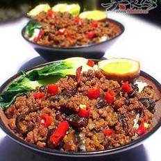 自制方便好吃的卤肉饭的做法