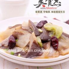 平菇烧白菜