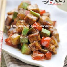 醬香什錦豆腐丁的做法