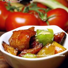 尖椒肥肠的做法