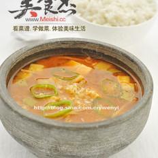 简约版大酱汤的做法