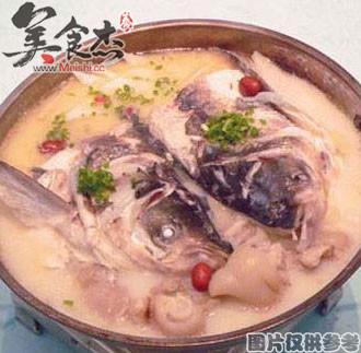 沙茶鱼头锅的做法