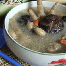花生鸡爪汤