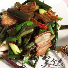 腊味菜苔的做法