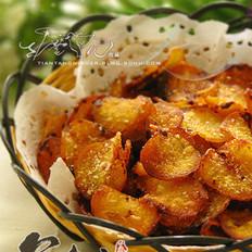 甜蜜的香酥薯片的做法