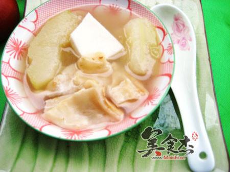 青木瓜椰子煲花胶汤的做法