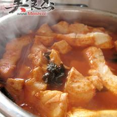 韩式辣酱焖鳕鱼