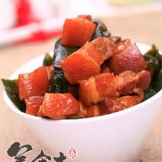 海带红烧肉的做法