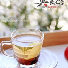 薄荷柠檬果干茶的做法