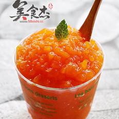 柠香木瓜果酱的做法