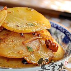 香煎五花肉土豆片