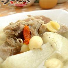 羊排骨粉丝汤的做法