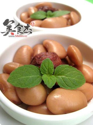 酒香话梅芸豆的做法