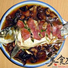 香菇烧鲤鱼的做法