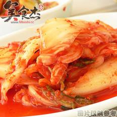 韩国切片泡菜的做法