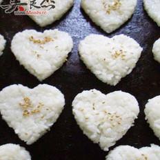 日式心形饭团的做法