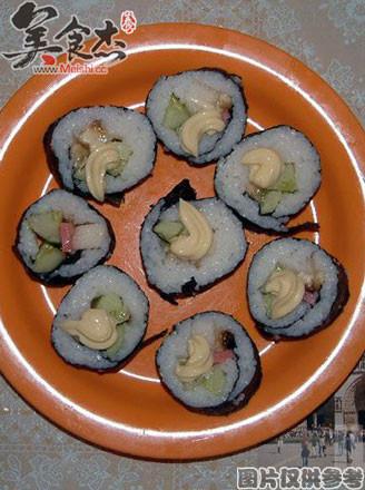 [日本料理]蔬果寿司的做法